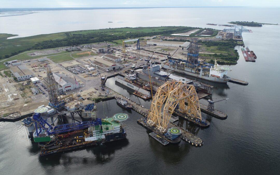 Alabama Ship Yard, 2020
