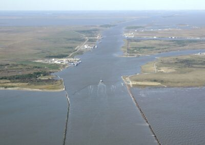 Calcasieu River, Mile 17.0 to 34.0