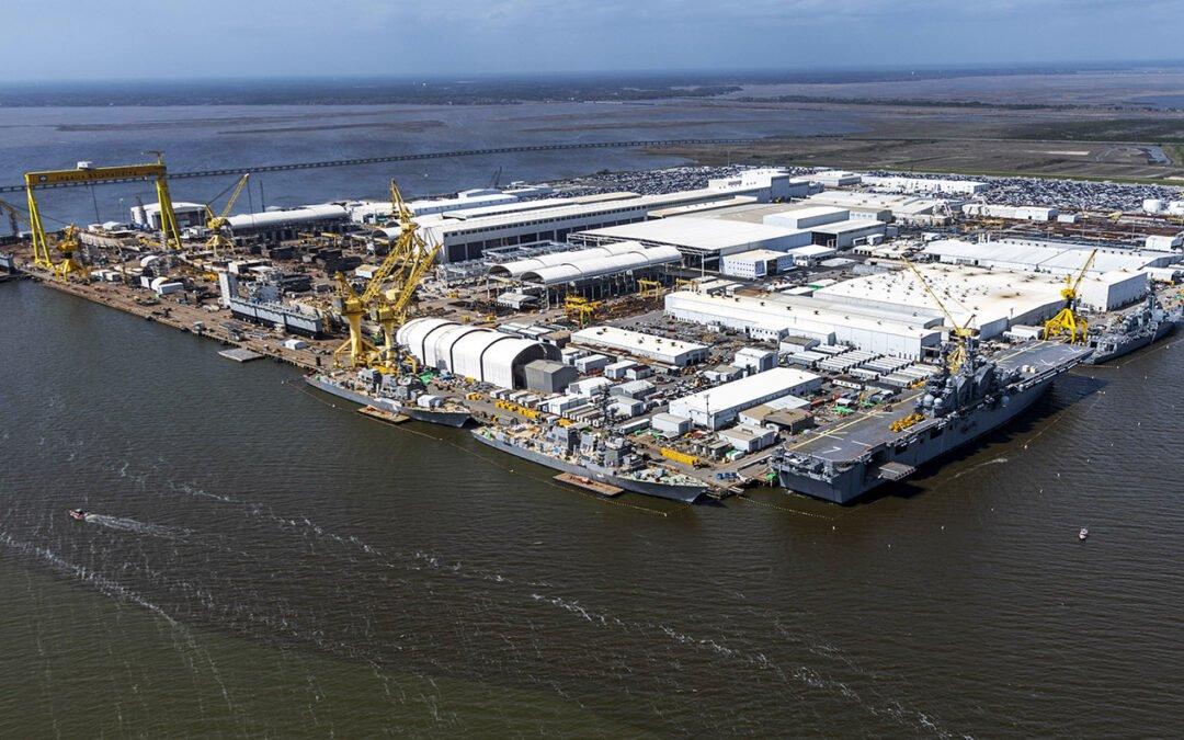 Ingalls Shipyard, Pascagoula, MS